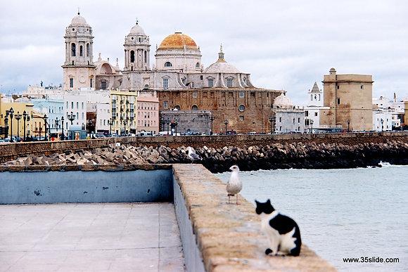 Seafront, Cadiz, Spain