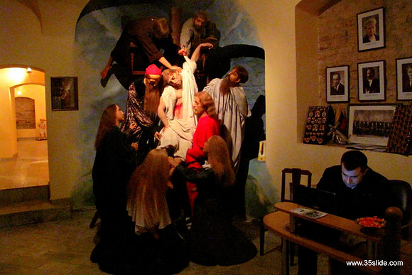 Working Late at the Wax Museum, Lithuania