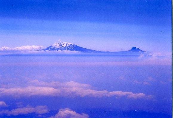 Kilimanjaro From The Air, Tanzania