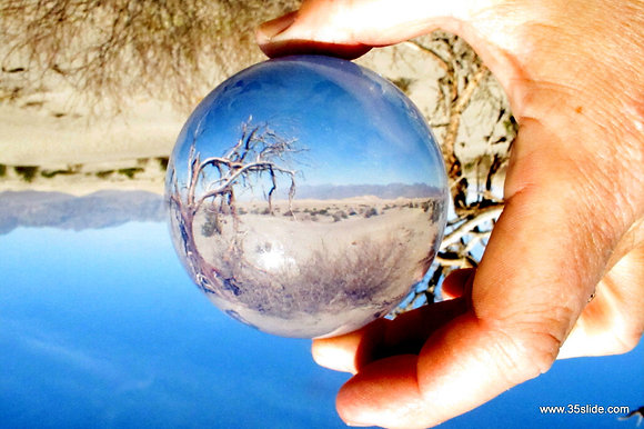Death Valley in a Sphere, CA USA