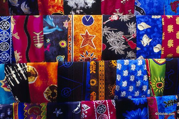 Sarongs for Sale, Zanzibar