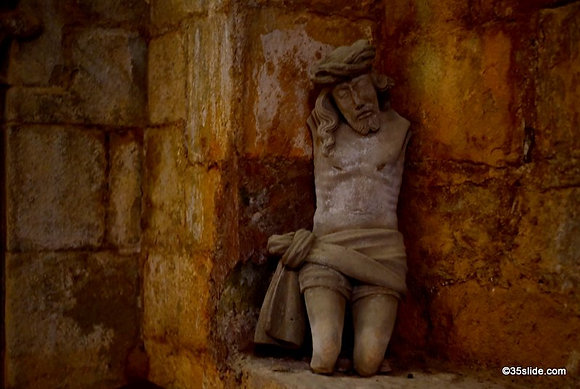 In the Chapel of the Dead, France