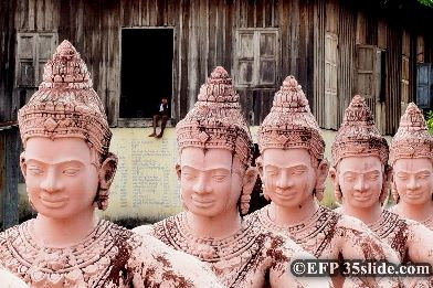 Forced Perspective, Cambodia