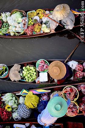 Market Boats, Thailand