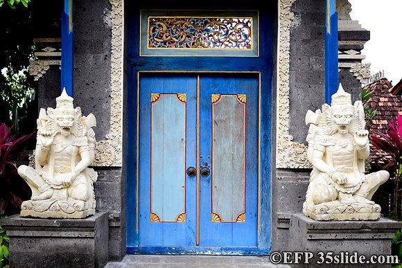 Balinese Doorway, Indonesia