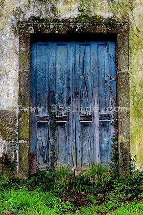 Old Blue Doors, Spain