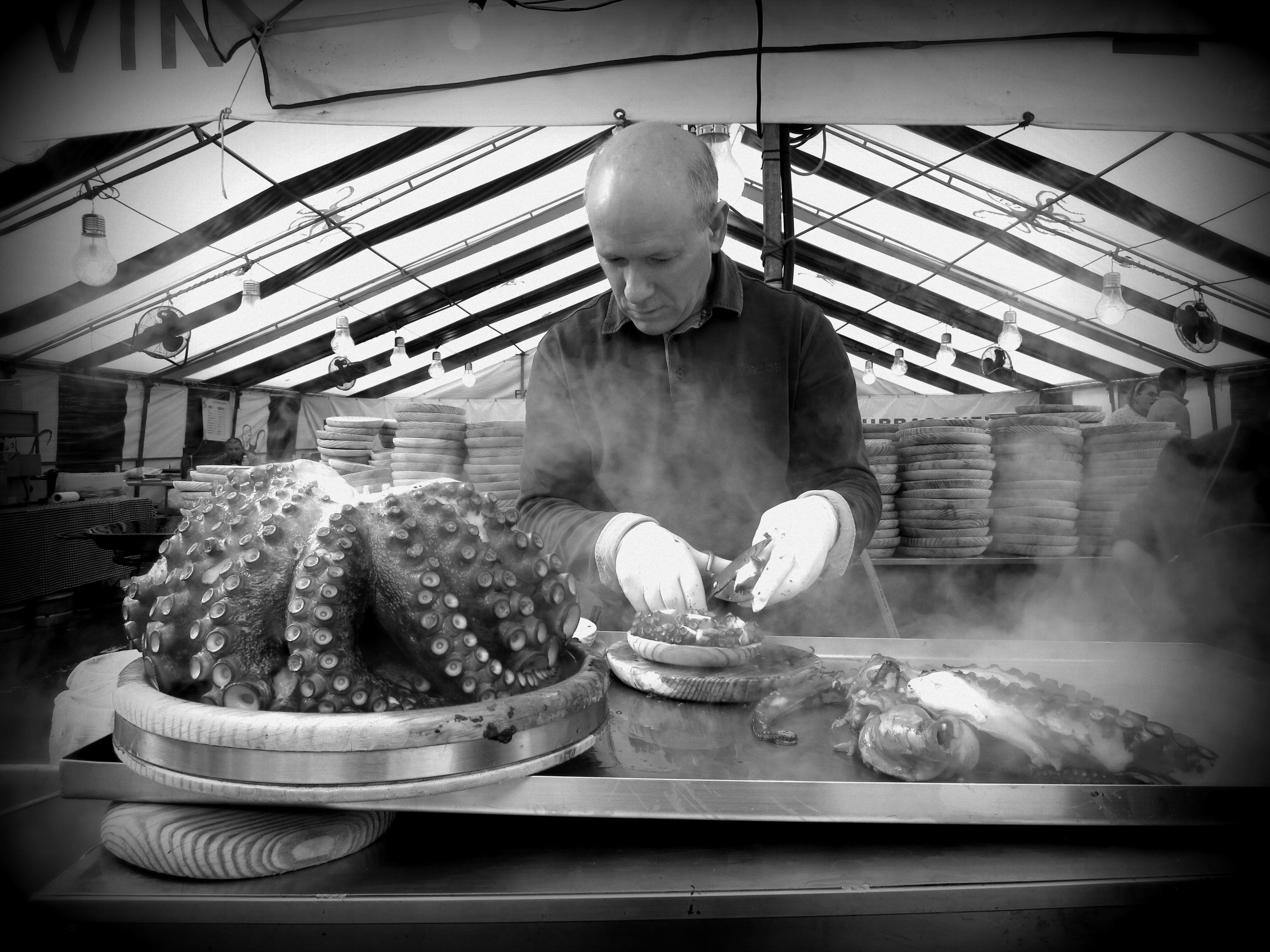 Octopus Bar, Spain