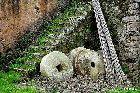 Old Mill Stones, Portugal