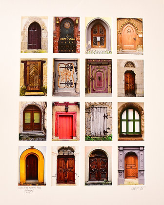Doors of The Romantic Road, Germany