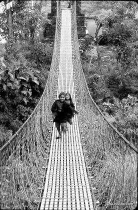 Suspension Bridge, Nepal