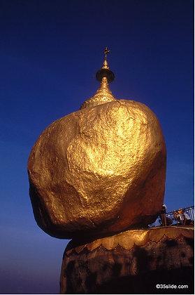 Sacred Golden Rock 2, Burma
