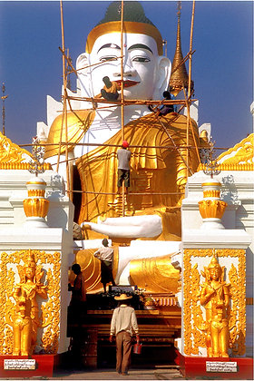 Renovating Buddha, Burma