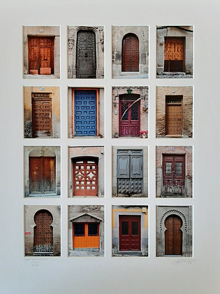 Doors of Old Toledo, Spain
