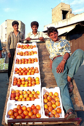 Fruit Vendors, Lebanon