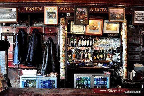 Toner's Pub Interior, Ireland