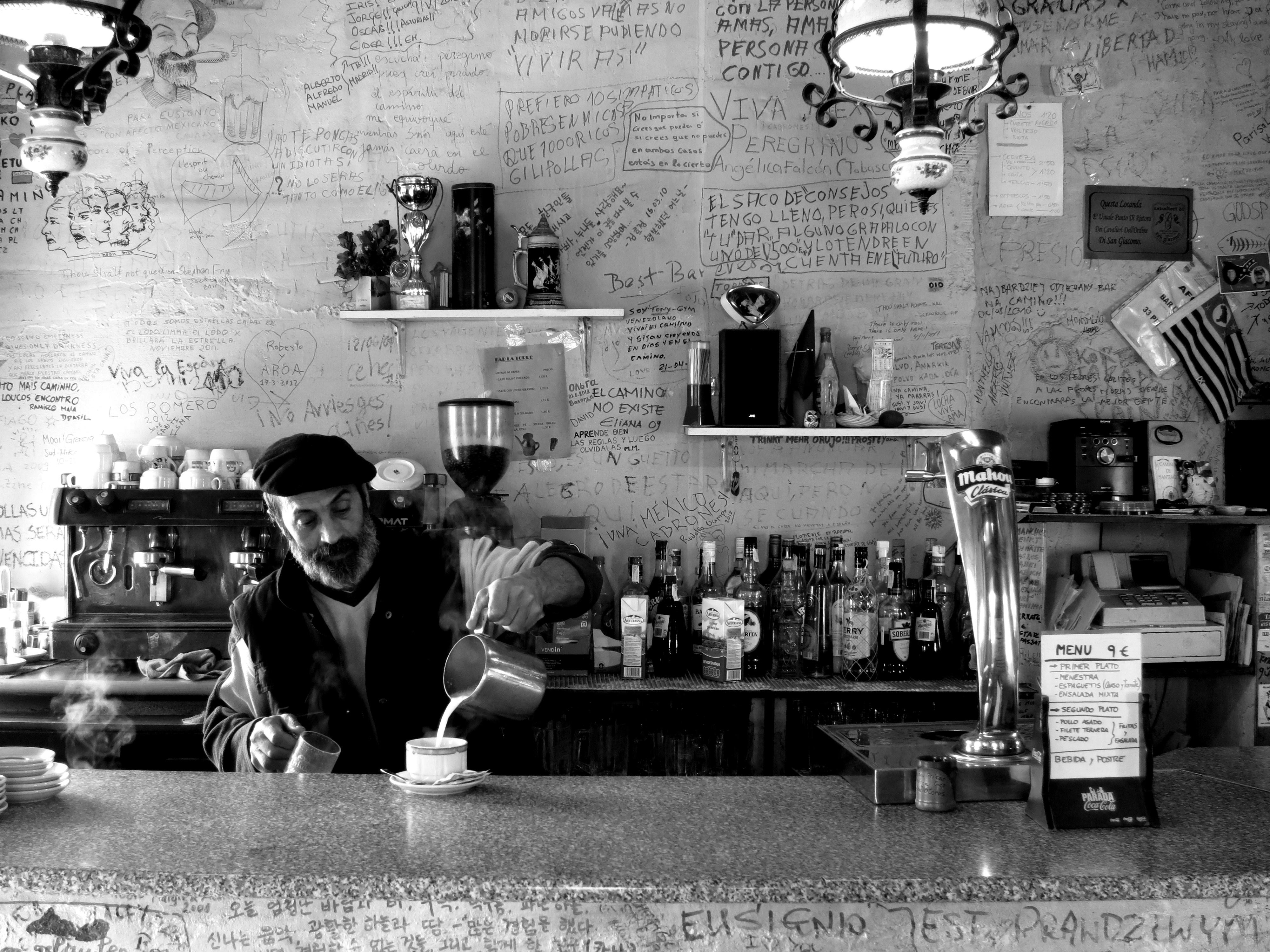 cafe con leche , Spain