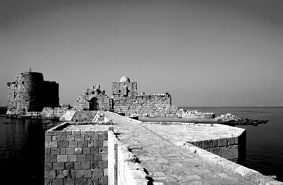 Sea Castle, Lebanon