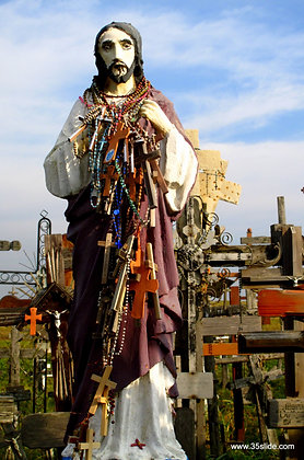 Jesus Statue, Hill of Crosses, Lithuania