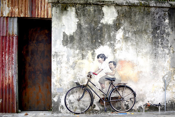 Street Art Doorway #2, Malaysia