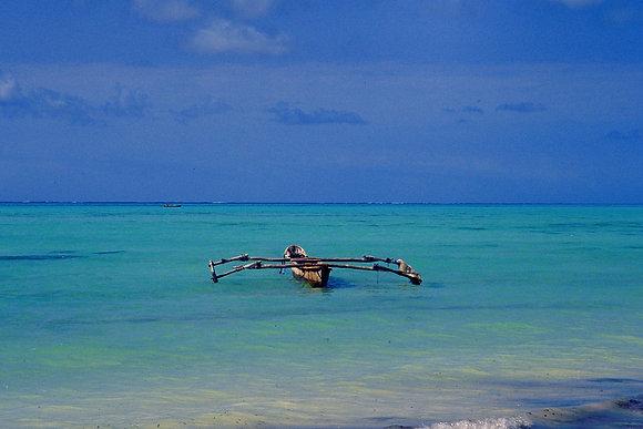 Fishing Boat, Zanzibar