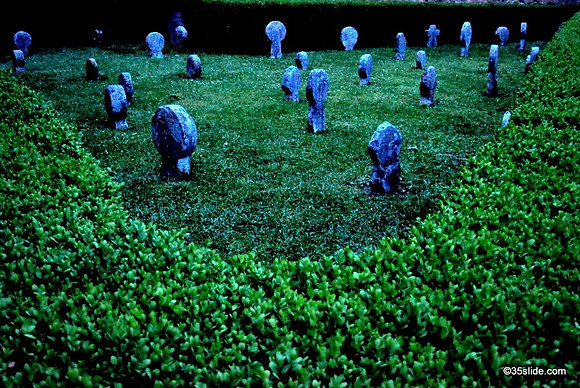 Ancient Grave Markers, France