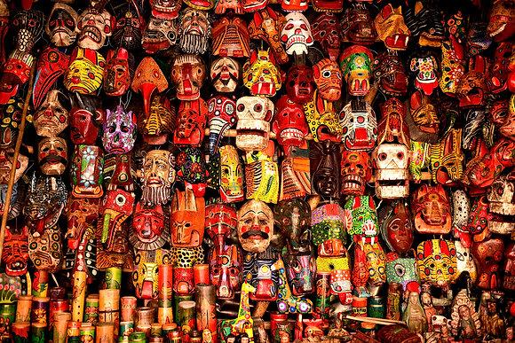 Masks, Guatemala