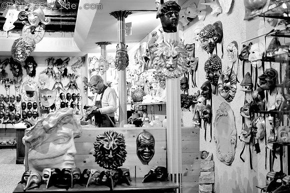 The Mask Maker, Venice