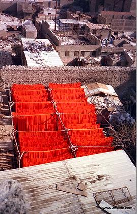 Dyeing Cloth Orange, Cairo