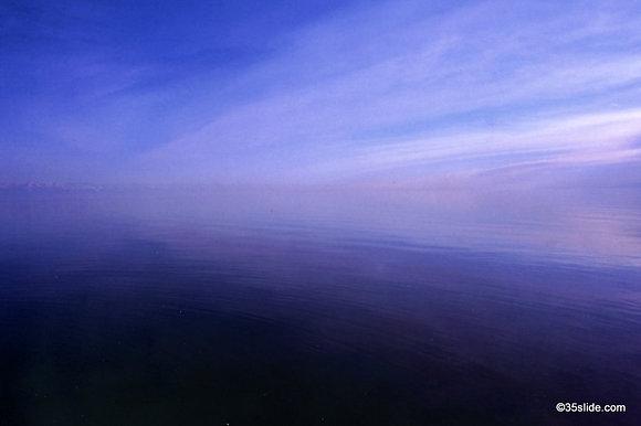 Break of Dawn on Lake Issyk Kul, Kyrgyzstan