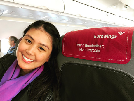 Flying Luxuriously On A Budget Airline | Eurowings Airline Review