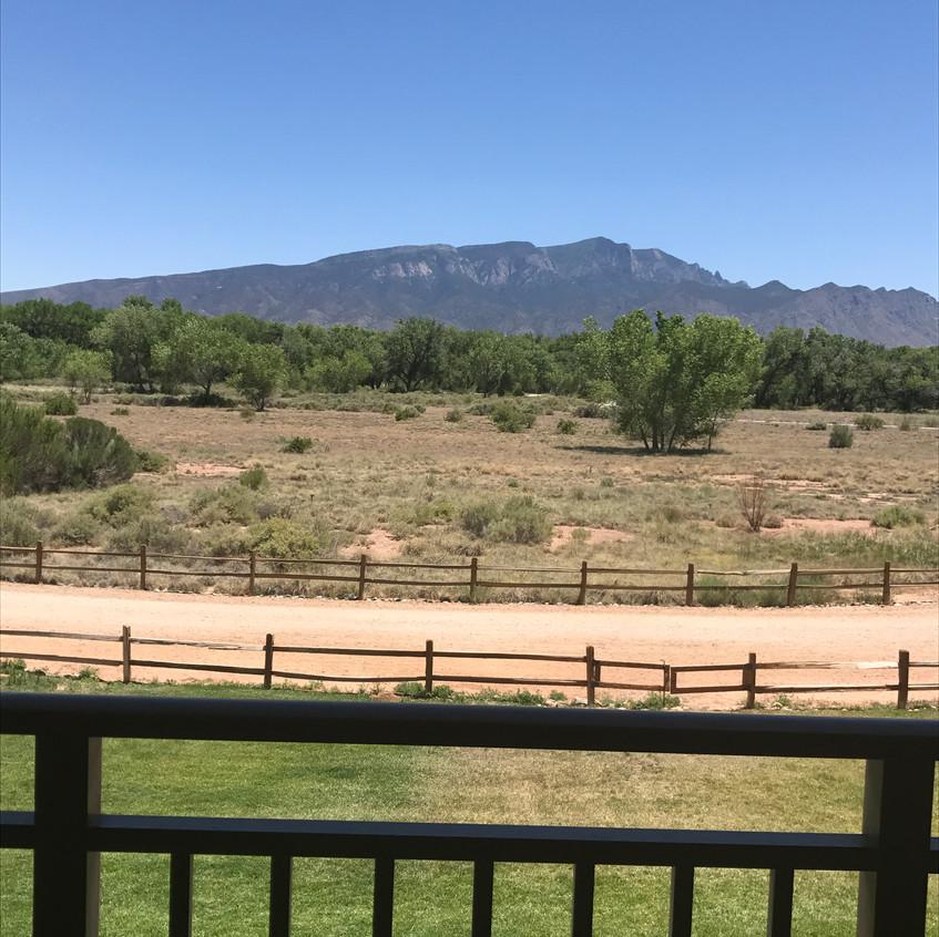 Dreamy mountain views