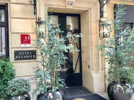 Serenity At Hotel Recamier, A Parisian Getaway Hotel
