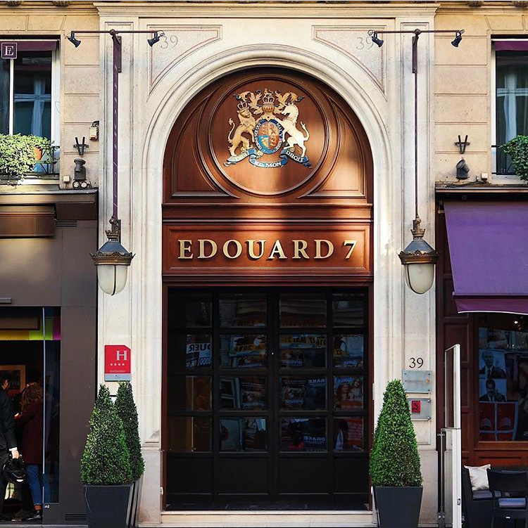 Pic credit: Hotel Edouard 7