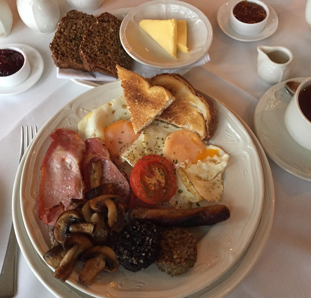 Stunning breakfast