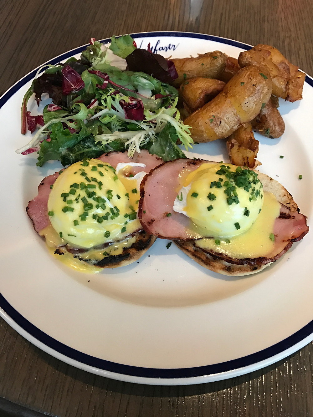 Eggs Benedict. What a beauty!