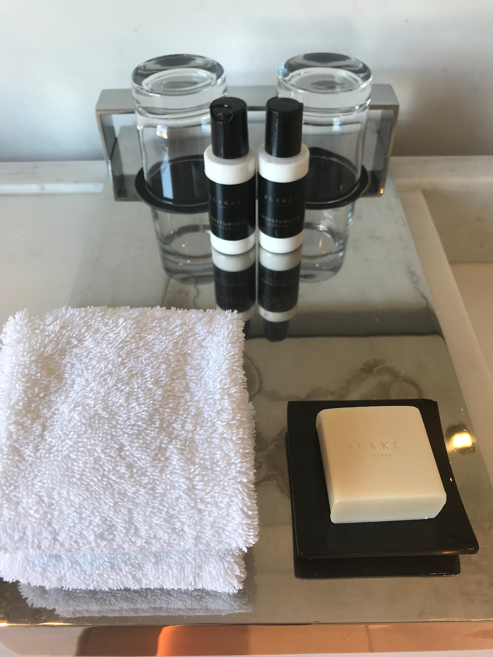 Blakes bespoke bath amenities