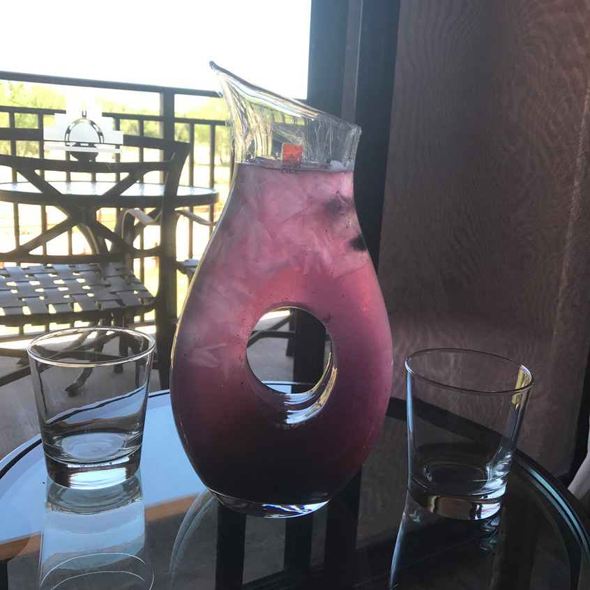 Berry fruit infused water!