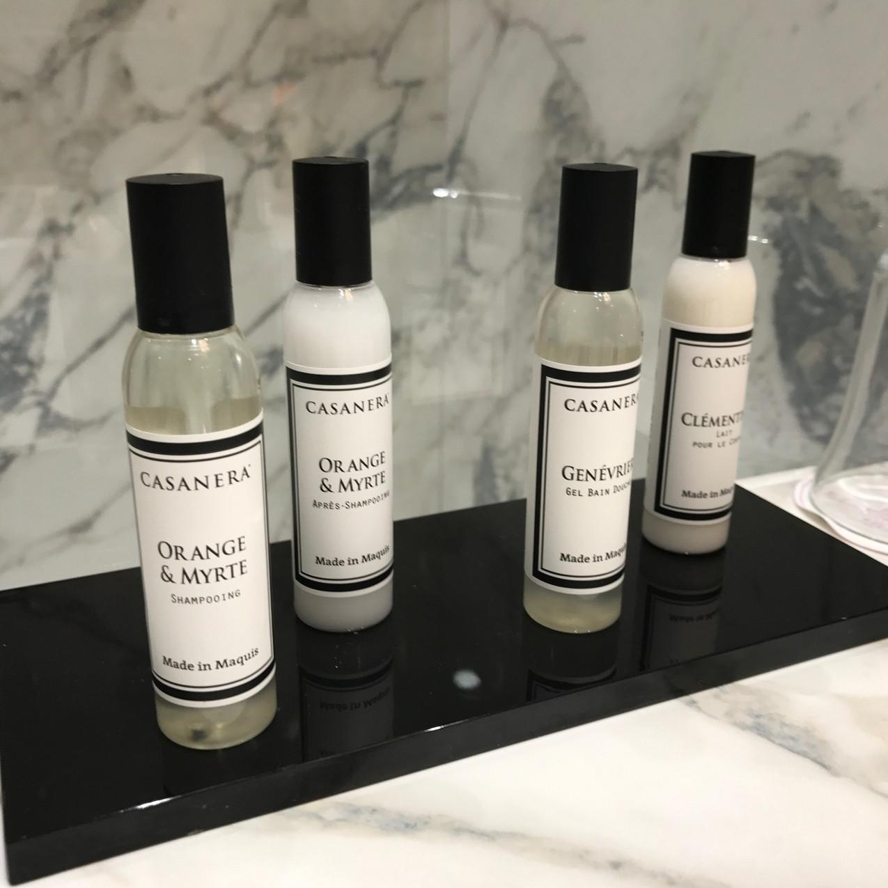 Casanera bath products