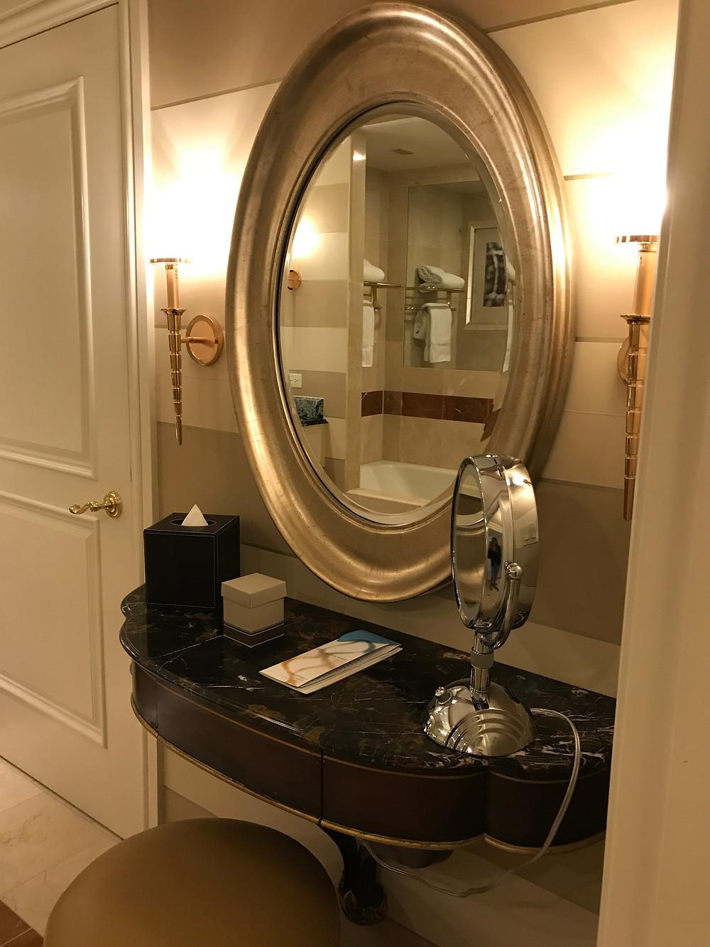 Cute vanity