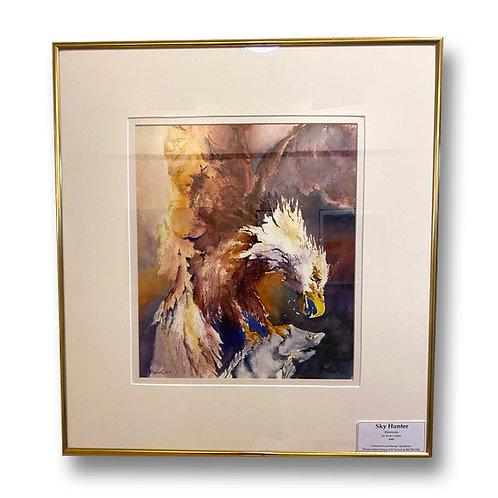 Sky Hunter - Original Watercolor