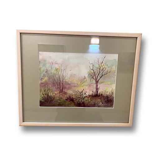 Serene Meadow - Original Watercolor