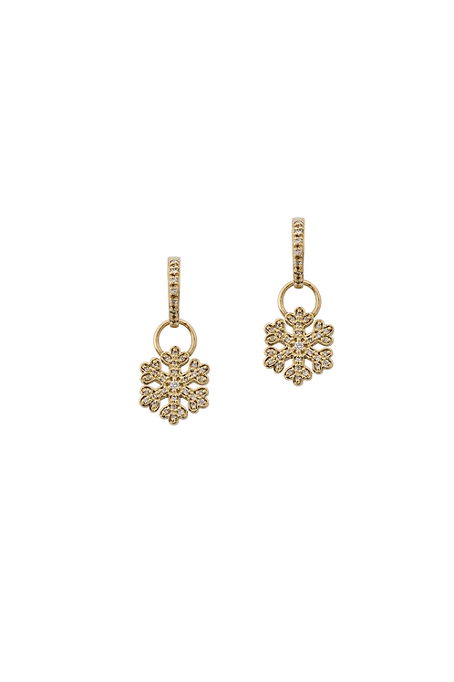 Snowflakes Charms and Earrings