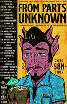 From Parts Uknown Tiki S8N Tour 2019