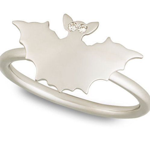 Yellow Gold Bat Ring