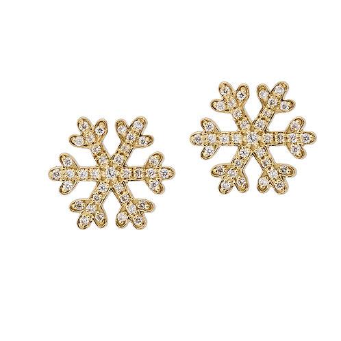 Snowflakes Studs