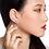 Thumbnail: White Gold and Diamonds Snowflakes Ear cuff