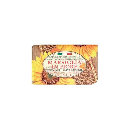 Nesti Dante Saponeria Nesti Marsiglia In Fiore Honey & Sunflower 125Gr