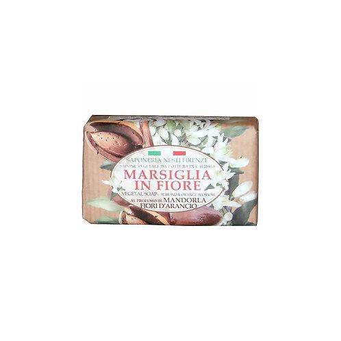 Nesti Dante Saponeria Nesti Marsiglia In Fiore Almond & Orange Flowers 125Gr