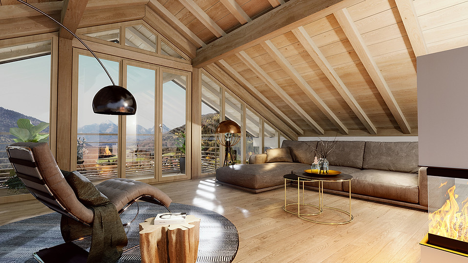 3D Architektur Visualisierung Penthouse