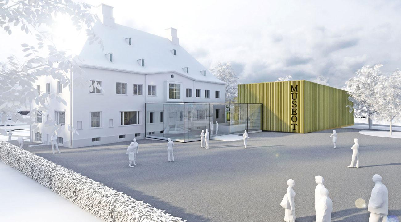 Wettbewerb Serlachius Museot Finnland Schiller Endres